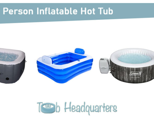 Best 2 Person Inflatable Hot Tub in 2021 [Detailed Guide]