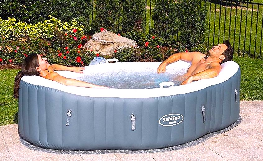 Can my 2 person hot tub be used outdoors